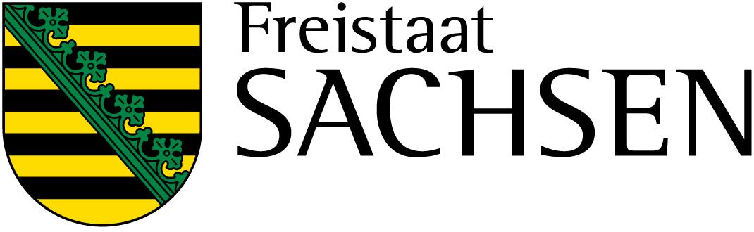 Logo des Freistaats Sachsen